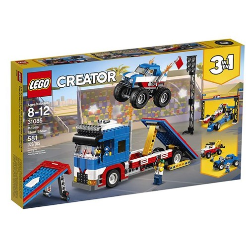 31085 Lego Creator - Espetáculo de Acrobacias Móvel - LEGO