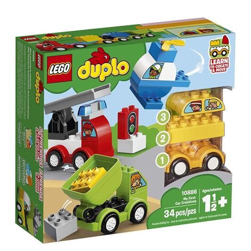10886 Lego Duplo - as Primeiras Criações de Veículos - LEGO