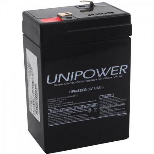1462 Bateria Selada Up645seg 6v/4,5ah Unipower