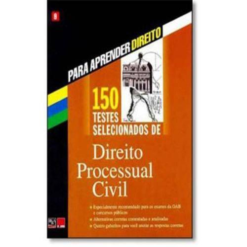 150 Testes de Direito Processual Civil - Vol 09