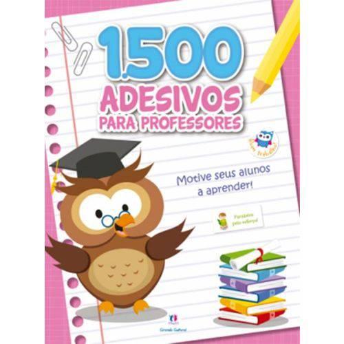 1500 Adesivos para Professores - Motive Seus Alunos a Aprender - Rosa