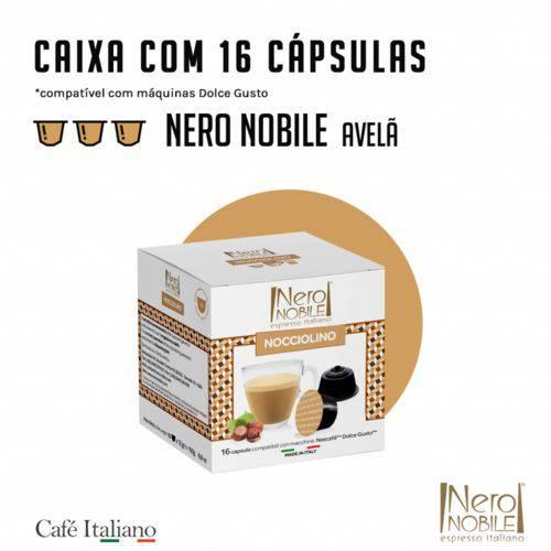 16 Cápsulas Nero Nobile Avelã