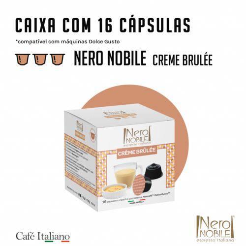 16 Cápsulas Nero Nobile Creme Bruleê