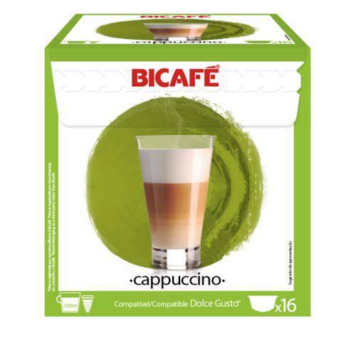 16 Cápsulas para Dolce Gusto Bicafé Cappuccino