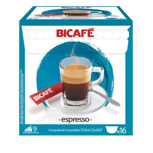 16 Cápsulas para Dolce Gusto Bicafé Espresso