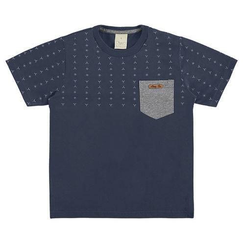 1905 V18 Camiseta C/ Bolso Angero Marinho