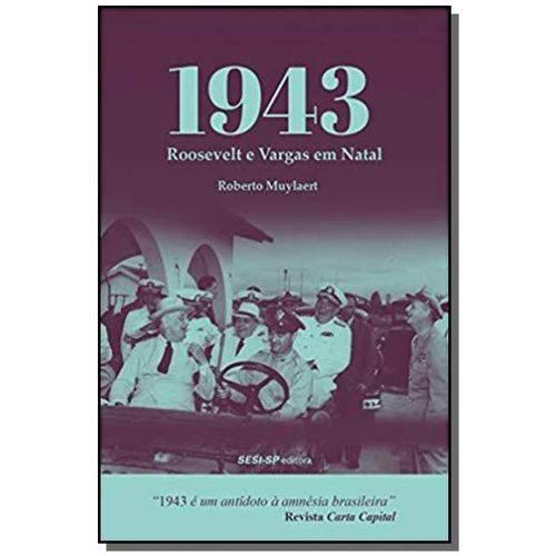 1943 - Roosevelt e Vargas em Natal - (0586)