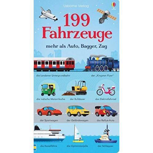 199 Fahrzeuge - Mehr Als Auto, Bagger, Zug
