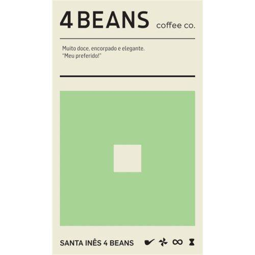 4 Beans - Santa Inês - 250g em Grãos
