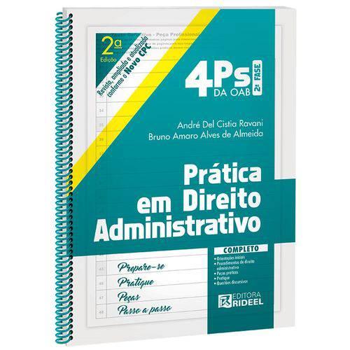 4 Ps da Oab 2 Fase - Pratica em Direito Administrativo - Rideel