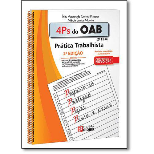 4 Ps da Oab 2ª Fase: Prática Trabalhista