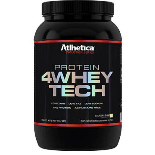 4 Whey Tech - 907g - First Peanut Butter - Atlhetica Nutrition - Evolution Series