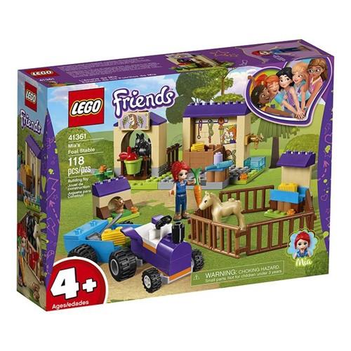 41361 Lego Friends - Estábulo do Potro da Mia - LEGO
