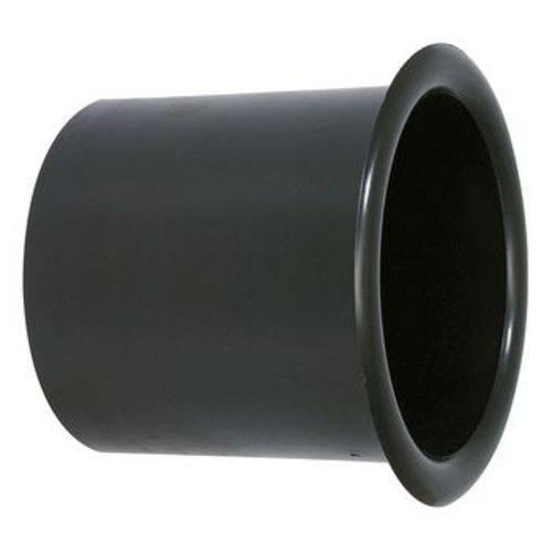 44523 Aero Duto Permak 4 Polegadas Plástico Especial para Acabamento de Caixa de Som - Preto