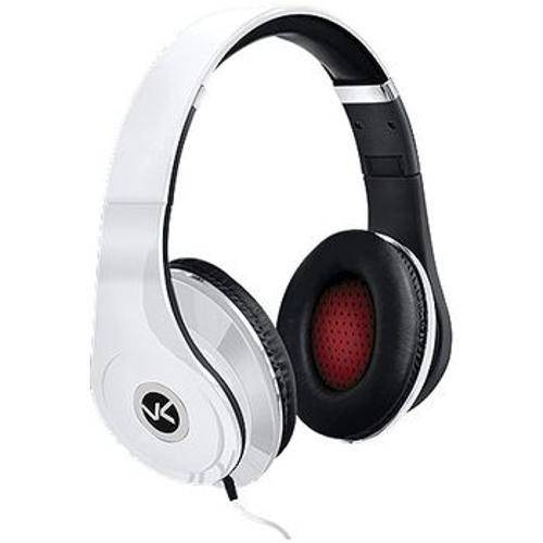 24952 Fone de Ouvido Grande V-Bass V2 Branco