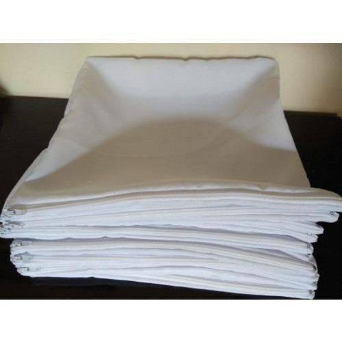 5 Capas de Almofadas 40x40 para Sublimação Toda Branca