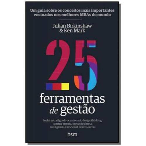 25 Ferramentas de Gestao - Hsm