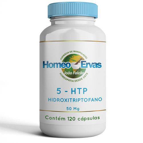 5 HTP 50mg - 120 CÁPSULAS- Homeo Ervas