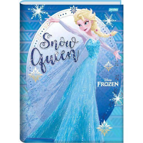 5 X Cadernos Brochurao Capa Dura Frozen 96 Folhas Cada
