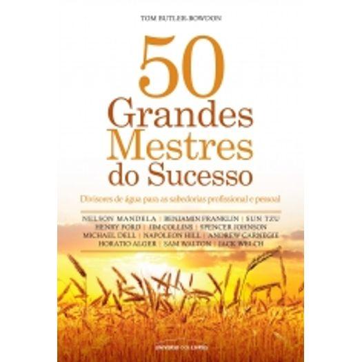 50 Grandes Mestres do Sucesso - Universo dos Livros