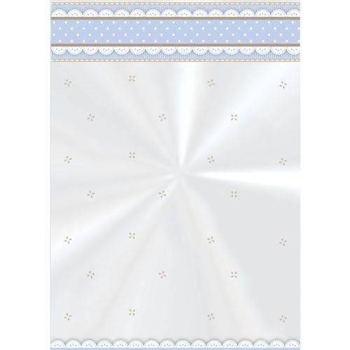 50 Sacos Poli Transp. 11x19,5cm Cute Azul