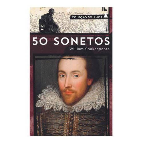 50 Sonetos de Shakespeare (Colecao 50 Anos)