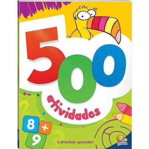 500 Atividades (Laranja)