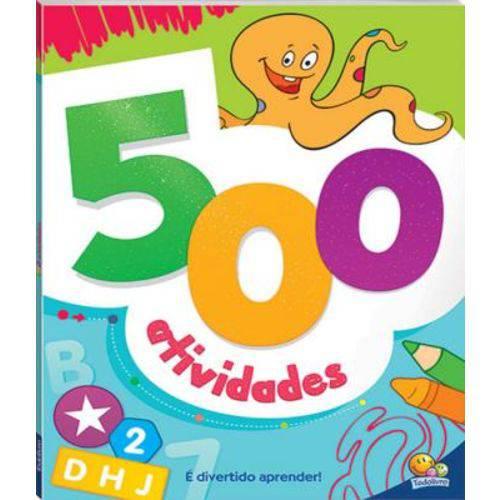 500 Atividades - Verde