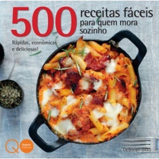 500 Receitas Faceis para Quem Mora Sozinho - Quarto