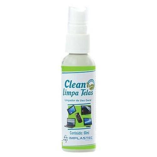 25613 Clean Limpa Telas 60ml com Flanela