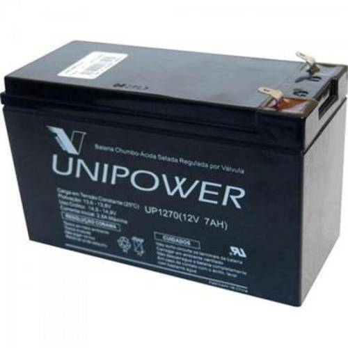 5652 Bateria Selada Up1270 12v/7a Unipower