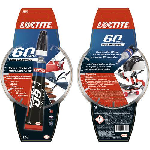 60 Sec. Cola Universal Loctite 20 G