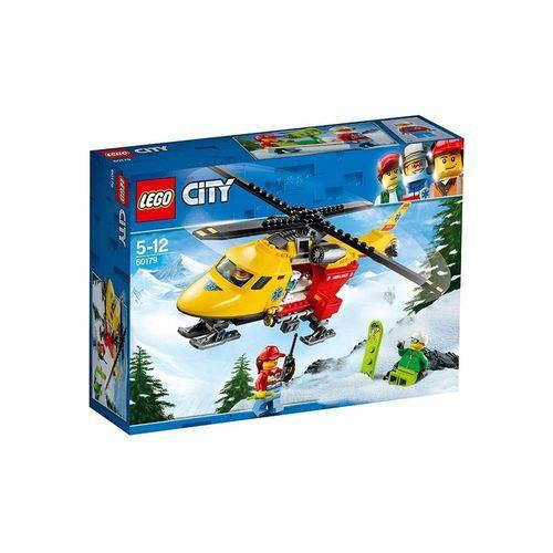 60179 LEGO City Helicoptero-Ambulância