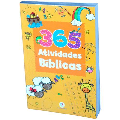 365 Atividades Bíblicas - Coleção Atividades Divertidas 365 Atividades Bíblicas - Papel OffSet