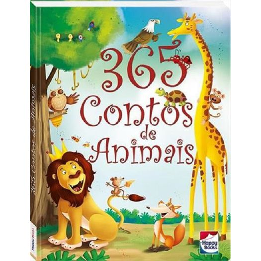 365 Contos de Animais - Happy Books