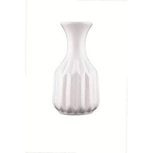 6271-vaso Branco em Ceramica