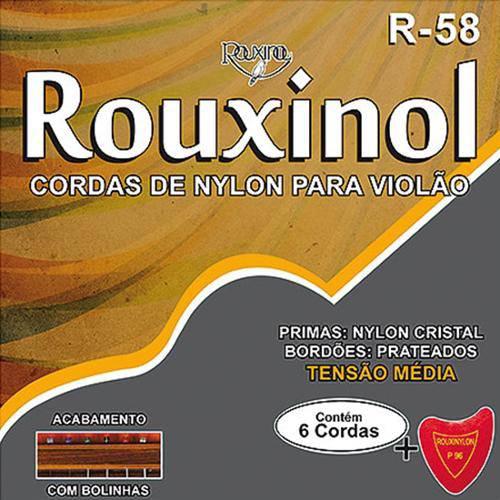 26944 Encordoamento Violao Nylon C/Bolinha R58