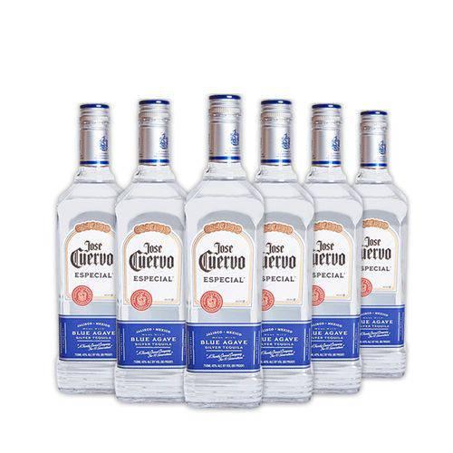 6x Tequilas Jose Cuervo Especial Silver 750ml