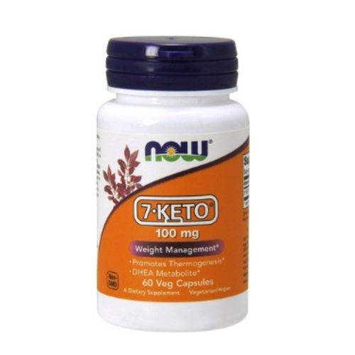 7-keto 100mg (60 Caps) Now Foods
