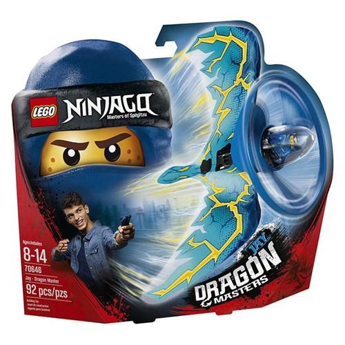 70646 Lego Ninjago - Jay - Mestre Dragão - LEGO