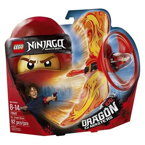 70647 Lego Ninjago - Kai - Mestre Dragão - LEGO