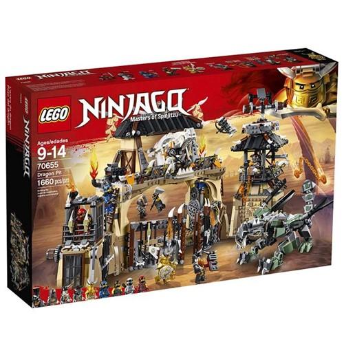 70655 Lego Ninjago - Poço do Dragão - Mestre de Spinjitzu - LEGO