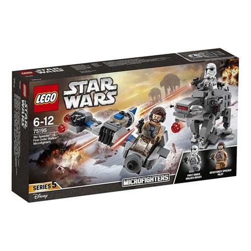 75195 Lego Star Wars - Microfighters Ski Speeder Contra Walker de Assalto da Primeira Ordem - LEGO