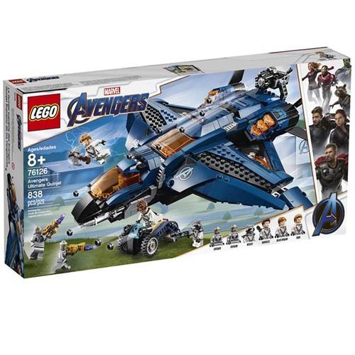 76126 Lego Super Heroes Vingadores - o Quinjet dos Vingadores - LEGO