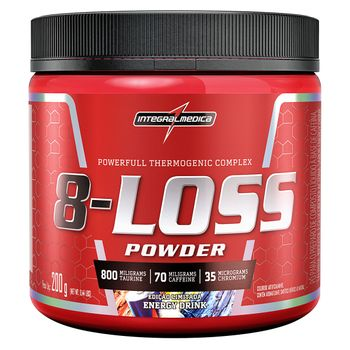 8-Loss Powder Energy Drink 200g - Integralmedica