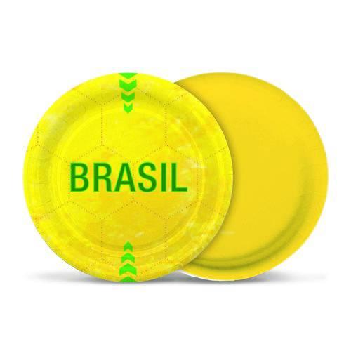8 Prato Redondo Vai Brasil 18Cm