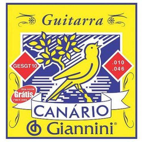 28848 Encordoamento para Guitarra Canario .010 - Gesgt10