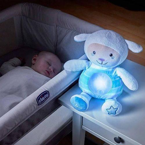 90902 Chicco Primeiro Brinquedo Ovelha Doce Soninho - Azul