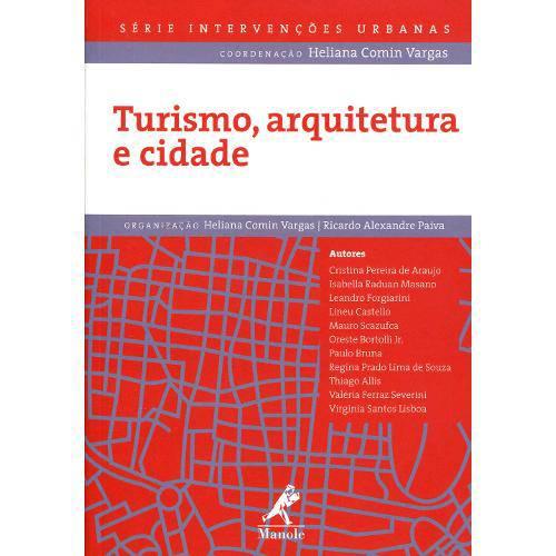 9788520437797 Turismo, Arquitetura e Cidade