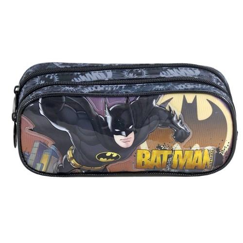 Estojo Escolar Duplo Batman Gothan Guardian 7595-Xeryus